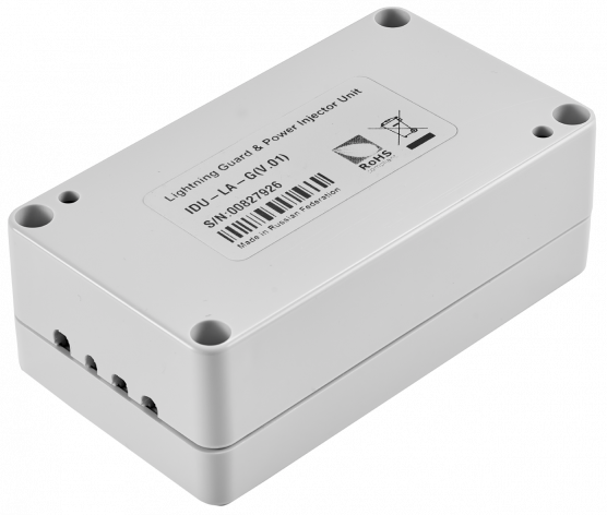 Indoor DC/DC injector for all InfiNet Wireless' units with integrated lightning protection IDU-LA-G(V.01)