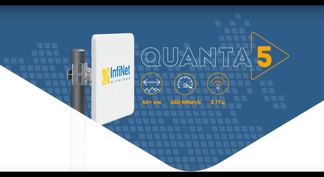 Quanta 5 is a brand new cost effective Point-to-Point solution