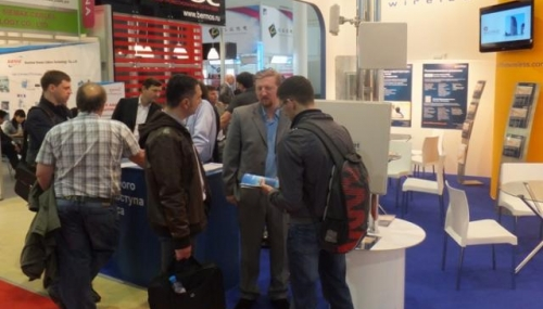 InfiNet connects with key partners and customers at Sviaz-Expocomm 2013, Moscow (Russia)