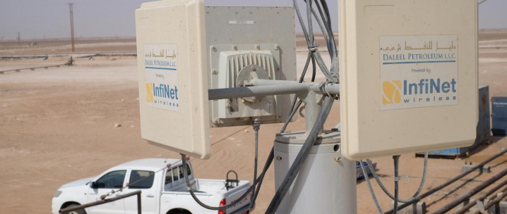 Daleel Petroleum L.L.C. Partners with Infinet Wireless to Build 'Smart Oilfield'